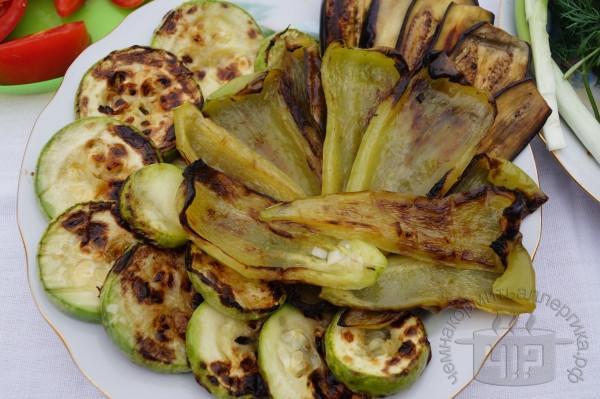 готовый вегетарианский шашлык