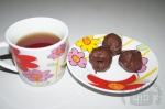 Конфеты из сухофруктов и орехов в шоколадной глазури