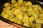 румяный картофель запечь