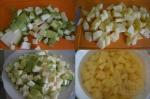 микс - кабачки и картофель