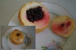 Яблоко запеченое с ягодами