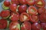 выкладываем помидорчики