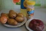 для мясо-картошной начинки
