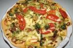 с добавлением сыра в пиццу