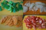 овощи порезанные кружками