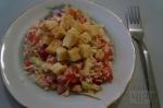 готовый салат с сыром