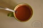 томатная паста, вода и мука