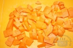 морковь порезана крупно