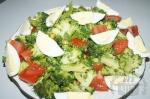 Салат с капустой брокколи