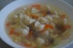 готовый суп с говядиной