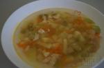 Куриный суп с кабачками