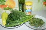 все для зеленого салатика