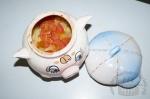 Овощи тушеные в глиняных горшочках в духовке