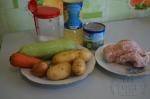 для куриного супа с кабачком