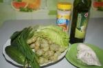 для салатика с виноградом