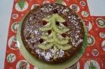 новогодний торт из сладкой колбасы