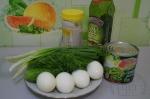 для салата с горохом и яйцом