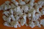небольшие соцветия капусты
