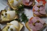 новогодние бутербродики