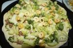 кабачки, брокколи и оливки