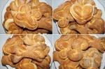 красивые пышные булочки