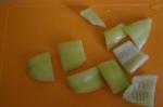 перец порезан на пластины