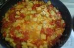 помидоры кинем к кабачкам