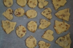 заготовки печенья с изюмом