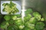 брокколи в соленой воде