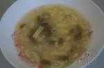 Овсяный суп со стручковой фасолью