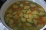 добавили кабачок в супик