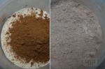 создание сухой смеси с какао-порошком