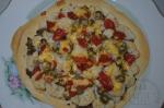 готовая пицца с капустой