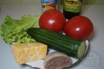 для салата с языком и сыром
