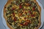 пицца с кабачками и сыром