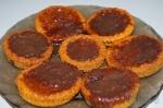 готовые морковные кексы