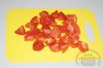 помидоры порезаны крупно