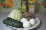 все для салата с языком и капустой