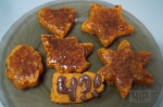 фигурные морковные кексы