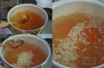 добавили лук и пшено в суп
