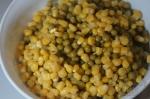 добавлен горох и кукуруза