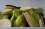 овощи с растительным маслом