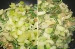 добавление кабачка в суп