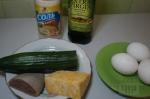 для салата с сыром и яйцами