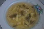 готовый супчик с фасолью