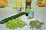 для салата с брокколи