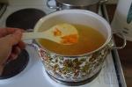добавление лука с морковью