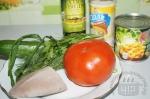 для салата с языком и помидором