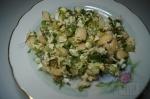 готовый салат с фасолью
