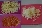 картофель лук и помидоры